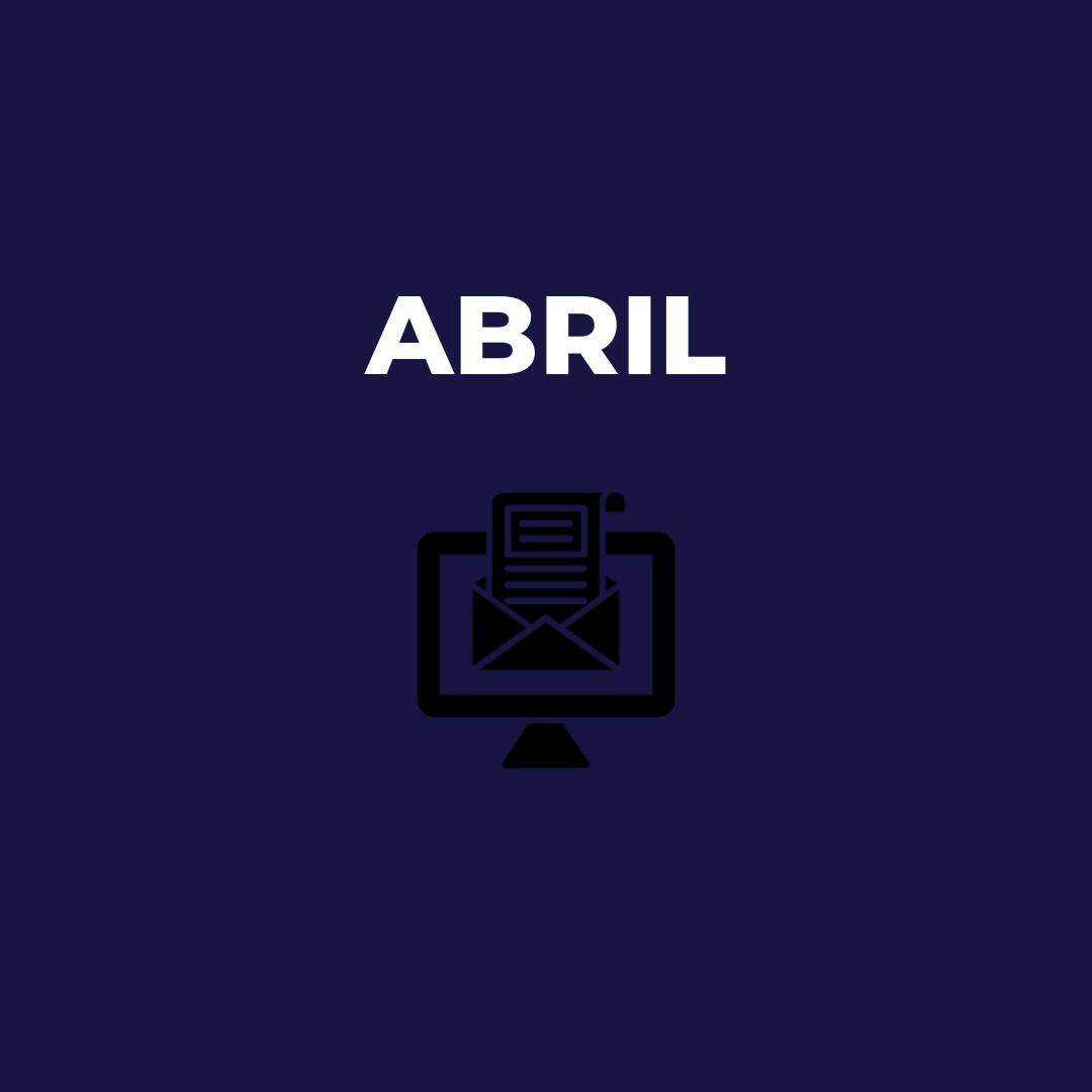 Newsletter Abril