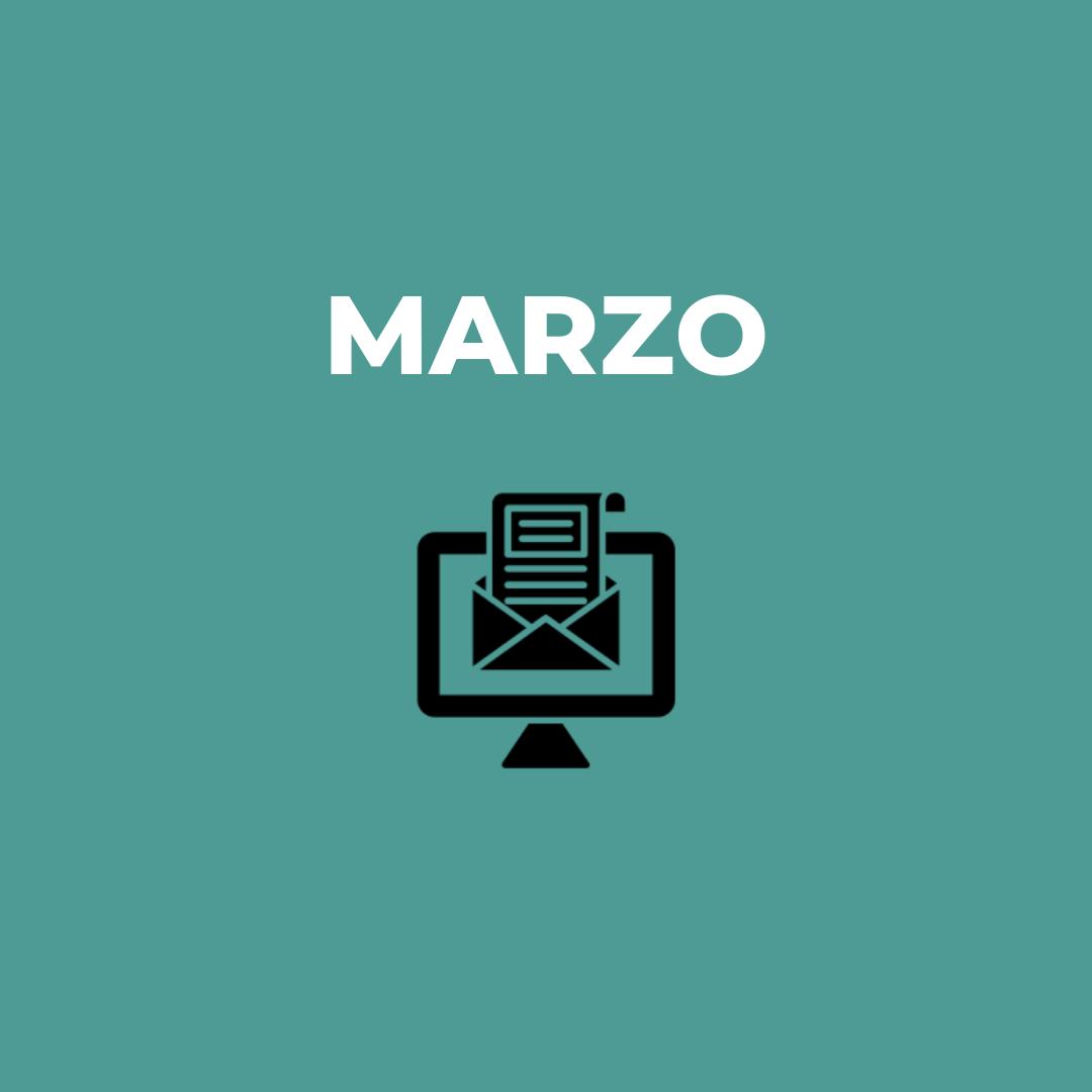 Newsletter Marzo
